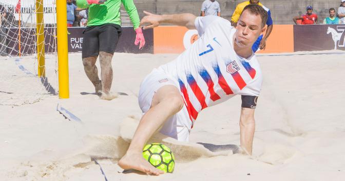 Nick Perera - U.S. Beach Soccer