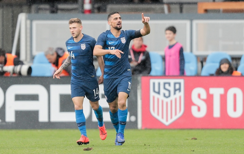 Sebastian Lletget and Paul Arriola scored both goals in a 2-0 U.S. MNT win vs. Costa Rica at Avaya Stadium on Feb. 2, 2019.
