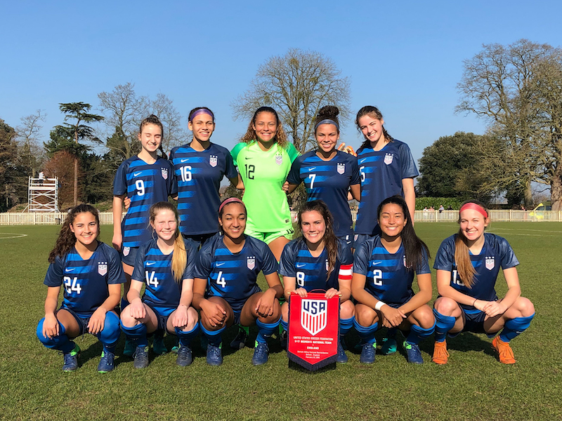 new style 8ca9b 3354b U-18 Women's National Team | U.S. Soccer Official Website