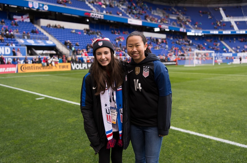 SheBelieves Heroes Hollis Belger and Danielle Bosland
