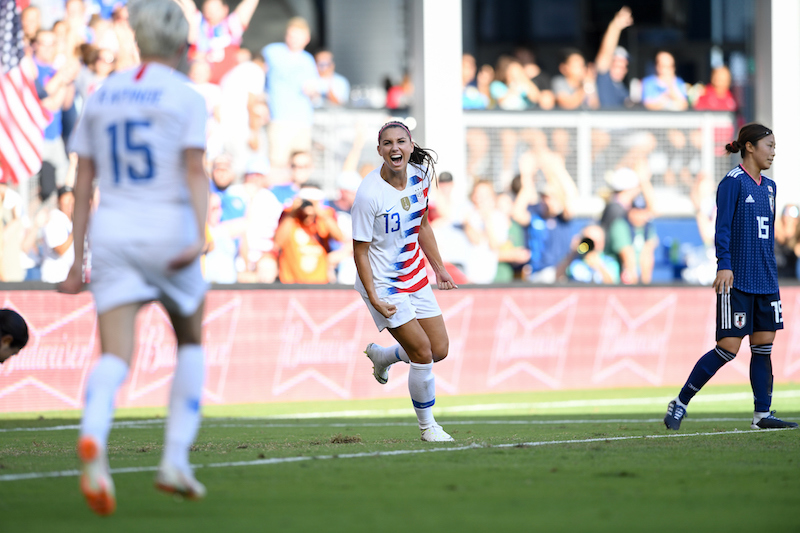 WNT - Alex Morgan