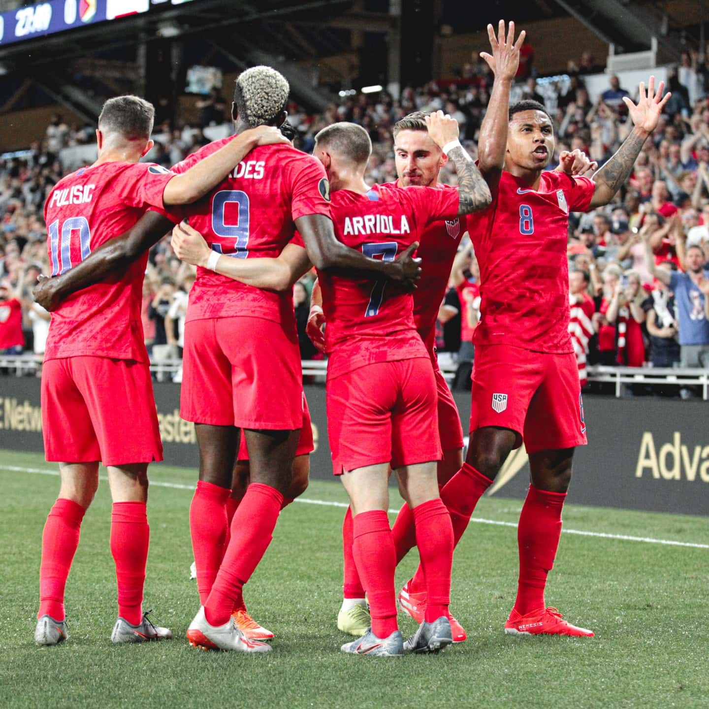 save off 07666 60d75 Gold Cup 2019 | Roster & Schedule | U.S. Soccer Tournament Hub