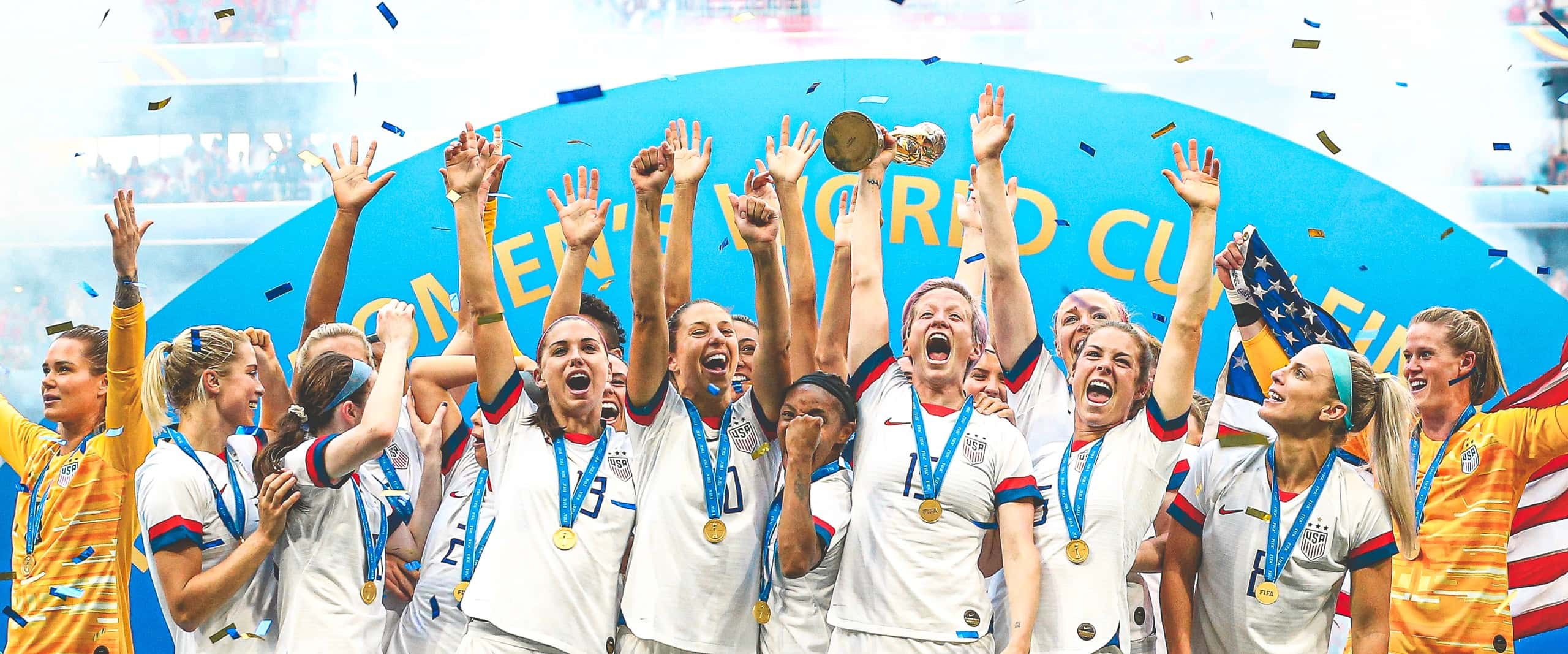 USWNT 2019 World Cup Trophy Presentation (linked from USSoccer.com)