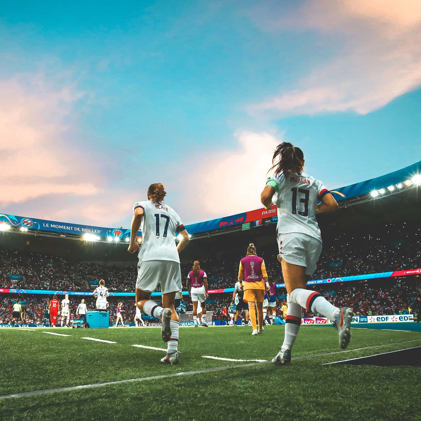 The U.S. Women's National Team will compete for the biggest prize in women's soccer when it takes on the Netherlands in the championship game of the 2019 FIFA Women's World Cup on Sunday, July 7 at Stade de Lyon in the French capital of women's soccer.
