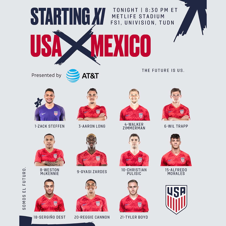 USMNT | U S  Men's National Soccer Team | U S  Soccer
