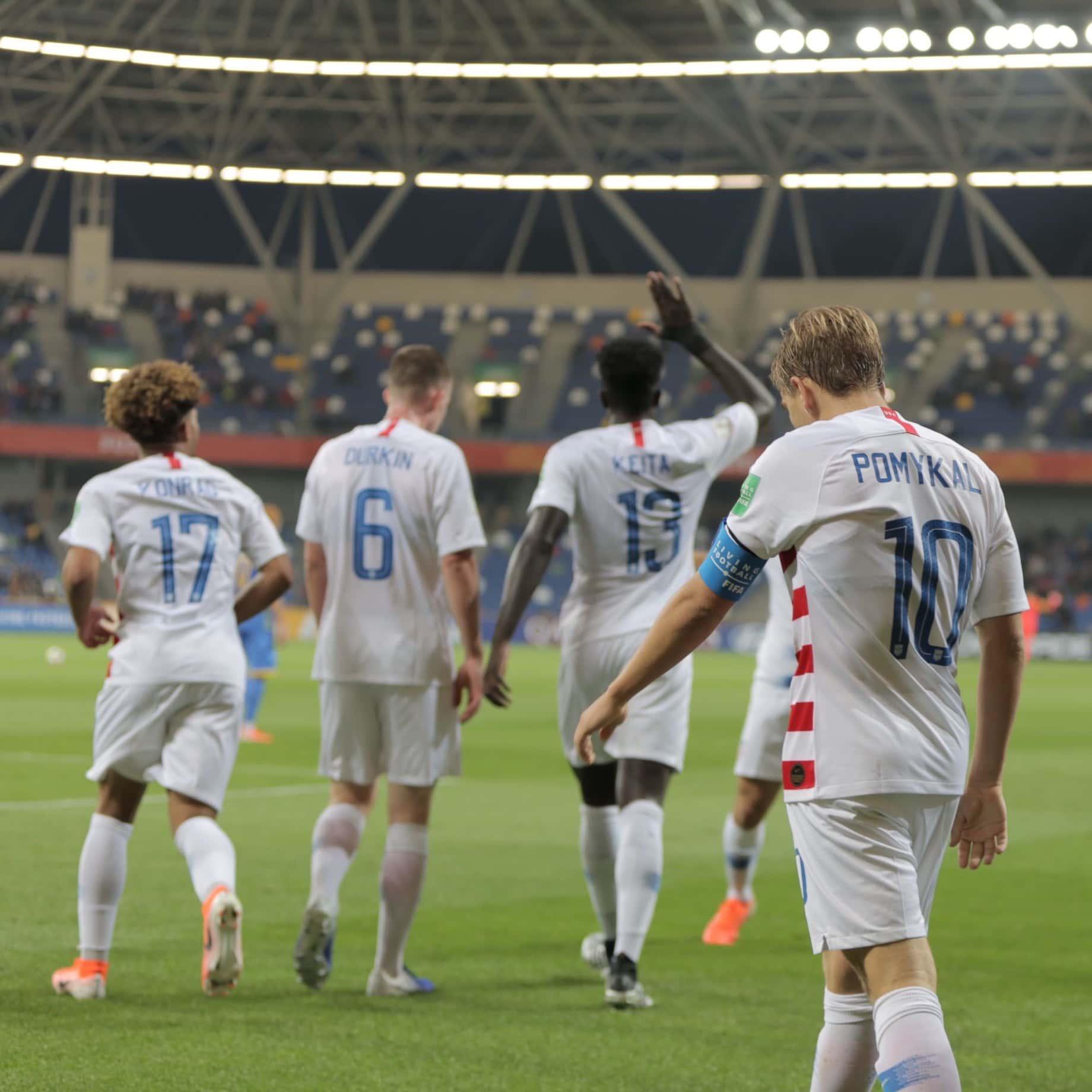 fb6d0f8c7 USA Drops 2019 U-20 World Cup Opener to Ukraine 2-1