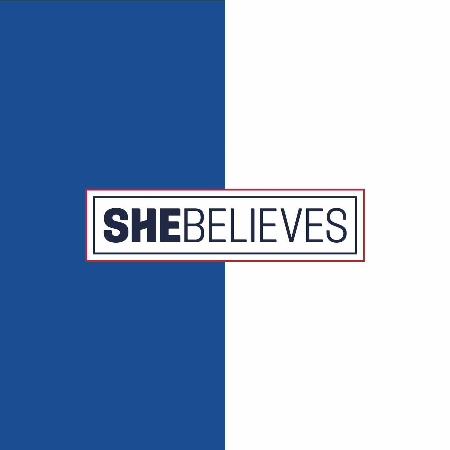 SheBelieves Logo