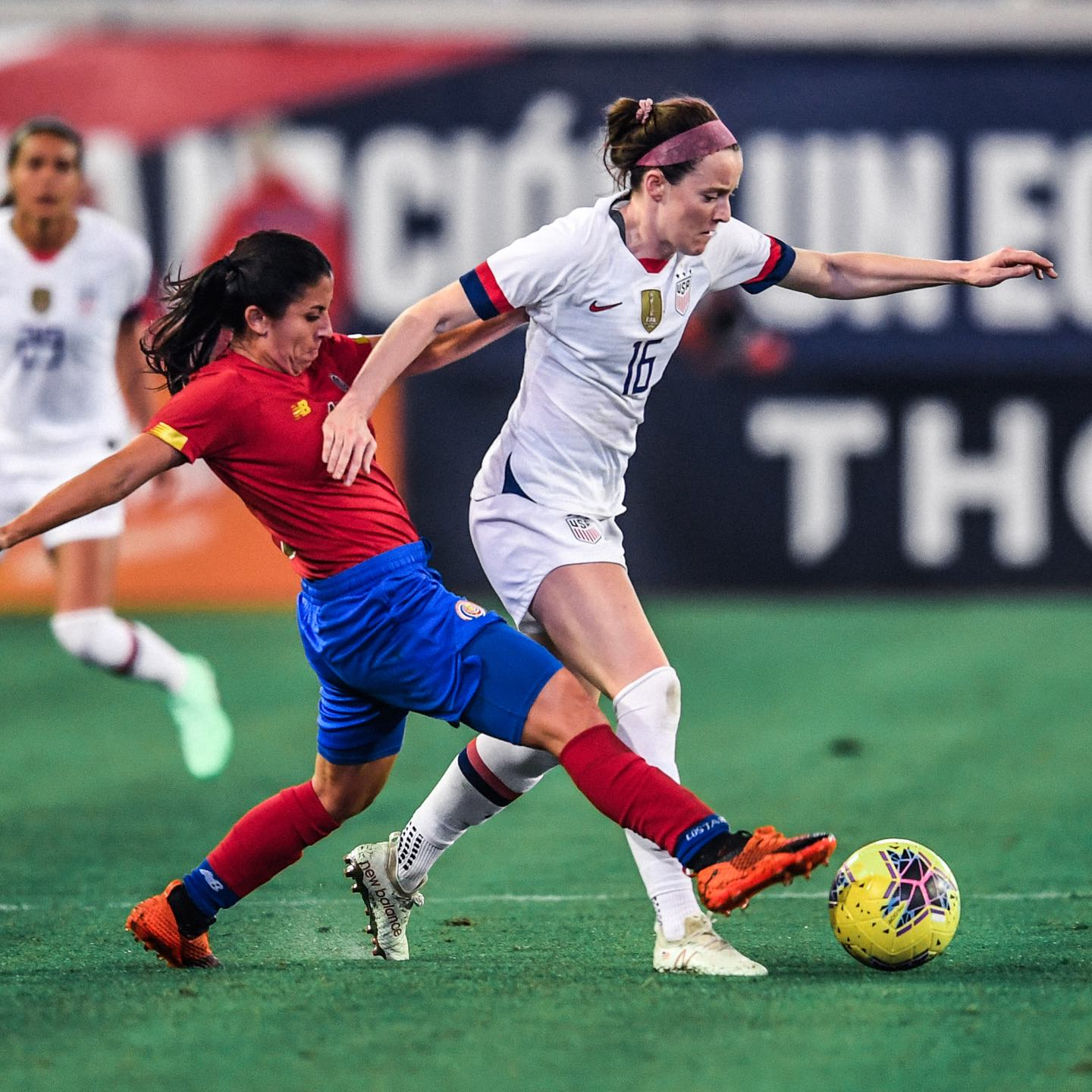 USWNT takes on Costa Rica