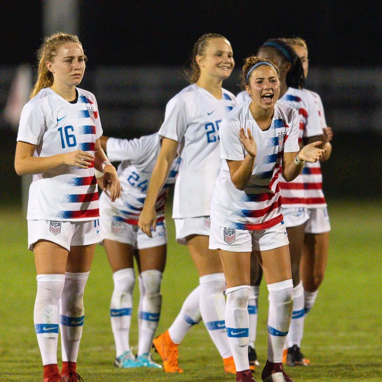 U 17 Women S National Team U S Soccer Official Website