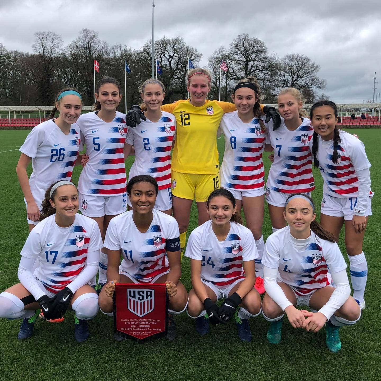 U 16 Girls National Team U S Soccer Official Website