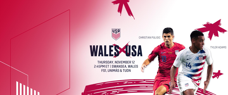 USMNT vs. Wales