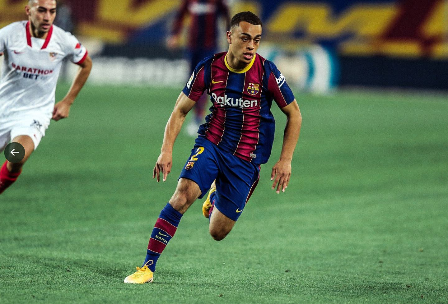 Sergino Dest Sees Promising Future With Fc Barcelona And Usmnt