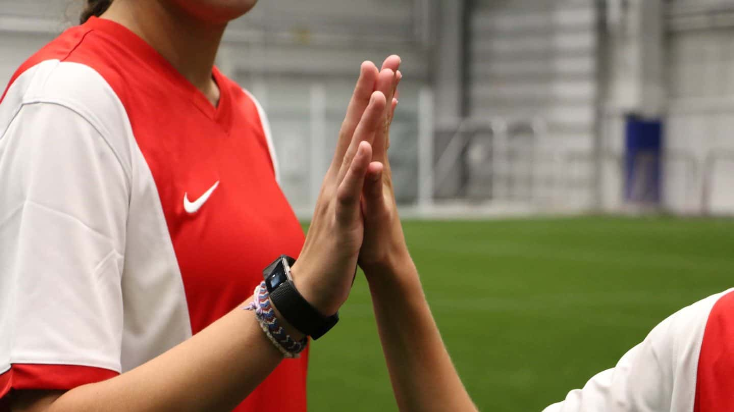 Youth Players High-Five