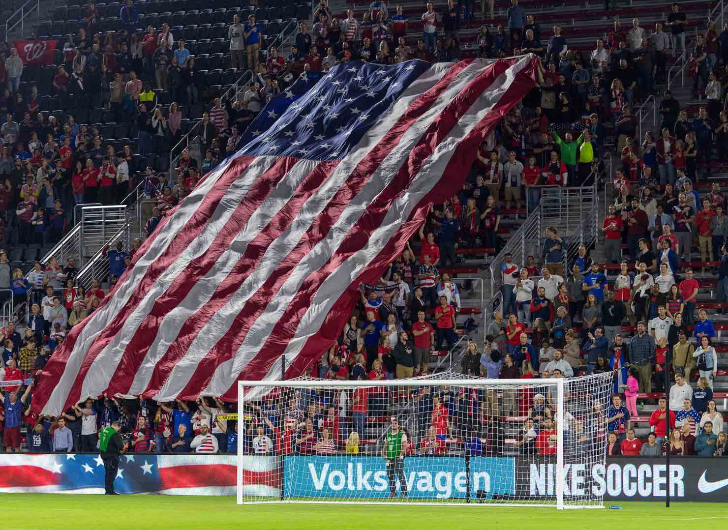 U.S. Soccer Crowd