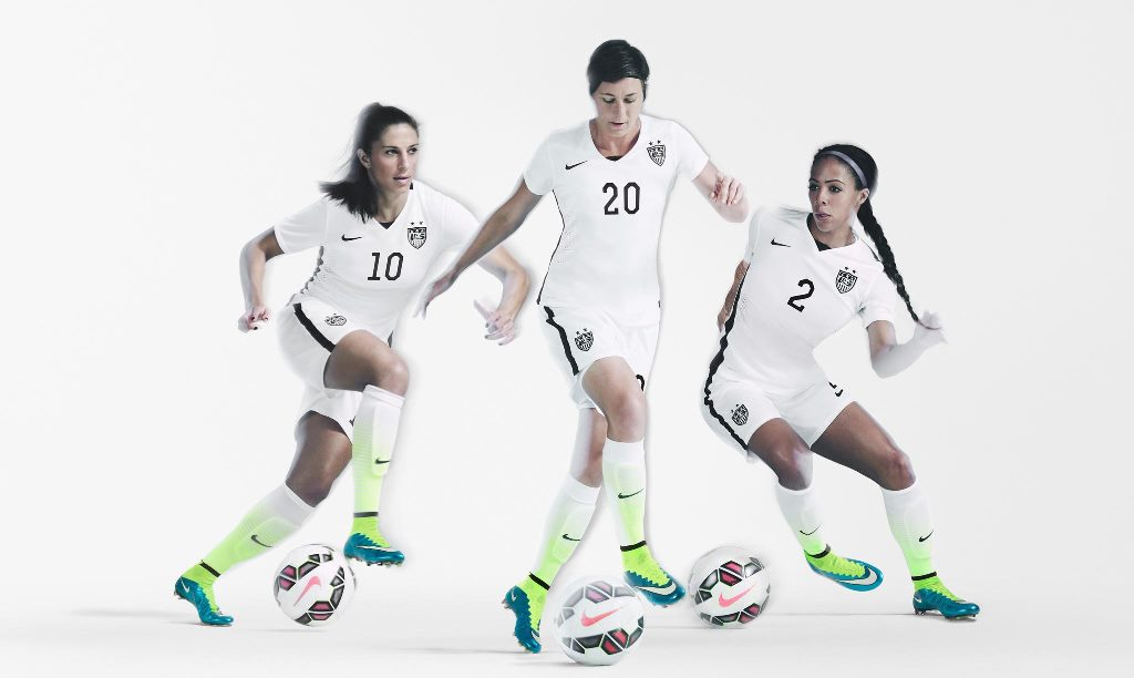 60a773d6c U.S. Women s National Team Unveils New 2015 Nike Home Kit