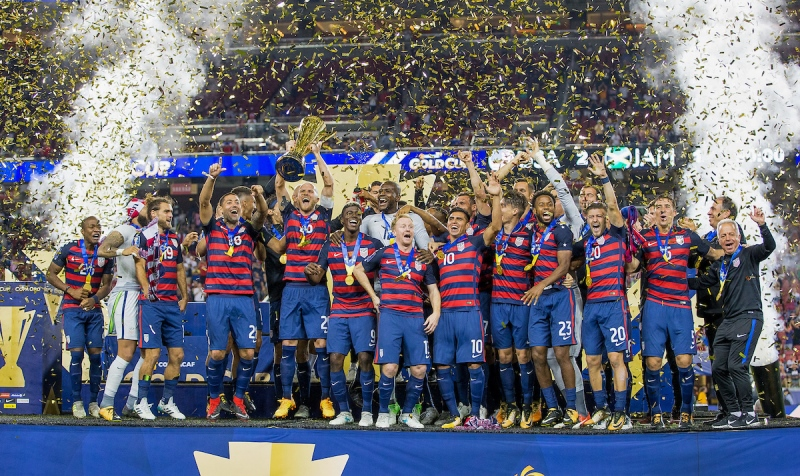 U.S. MNT - 2017 Gold Cup Champions