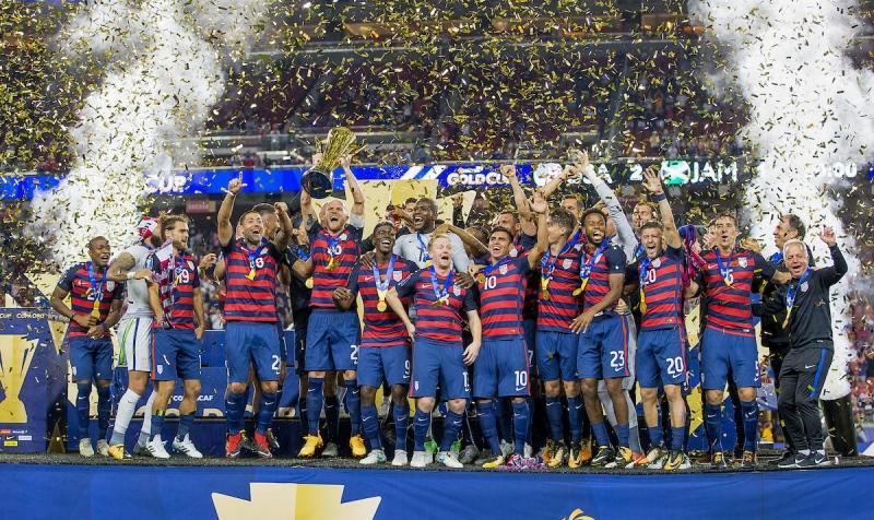 U.S. MNT - 2017 Gold Cup Champions