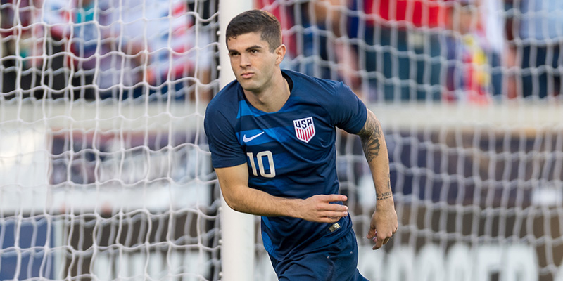new styles a1bf4 96dd9 Christian Pulisic | USMNT | Official U.S. Soccer Website