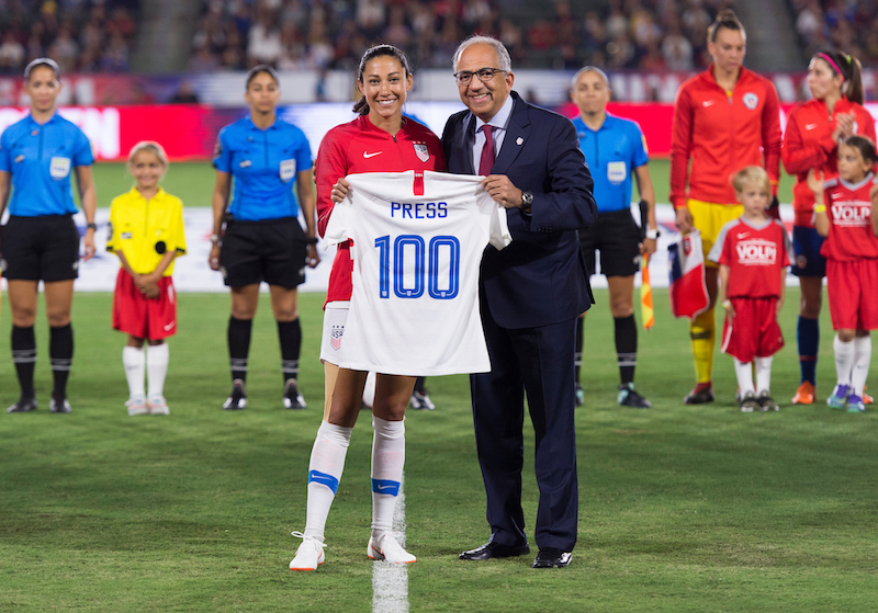 WNT - Christen Press, Carlos Cordeiro