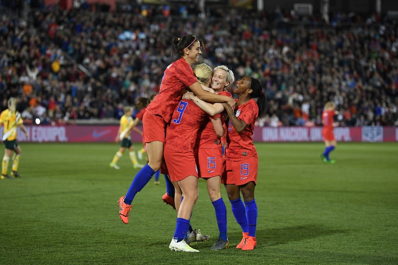 U.S. WNT - Megan Rapinoe goal vs. Australia