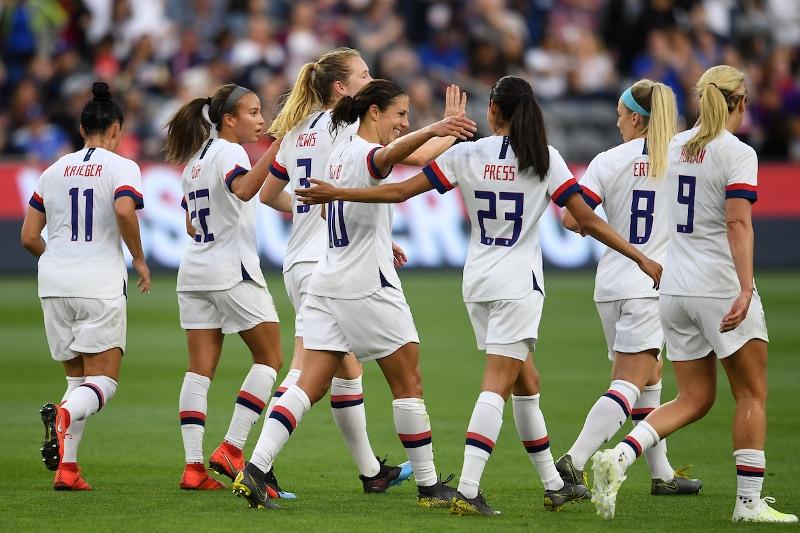 U.S. WNT vs. Belgium - Carli Lloyd goal