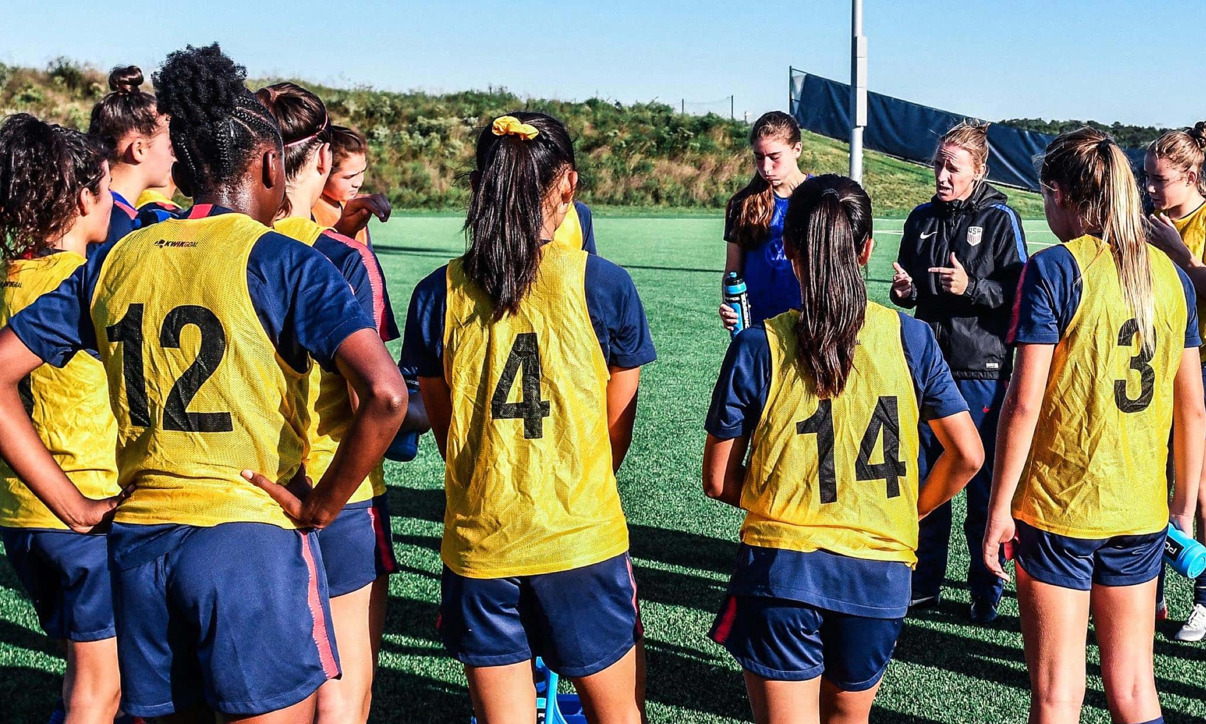U-15 GIRLS' NATIONAL TEAM