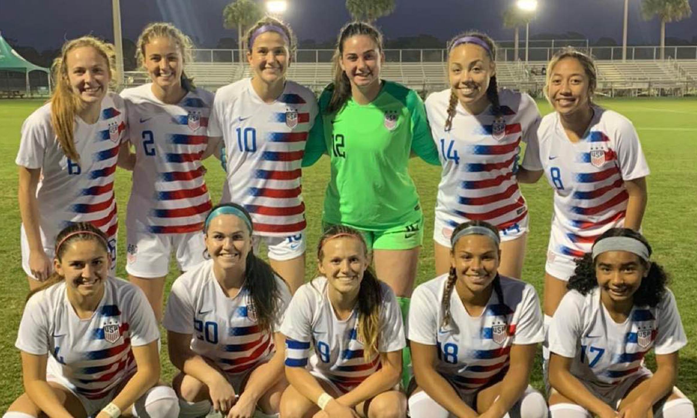 U-18 WOMEN'S NATIONAL TEAM