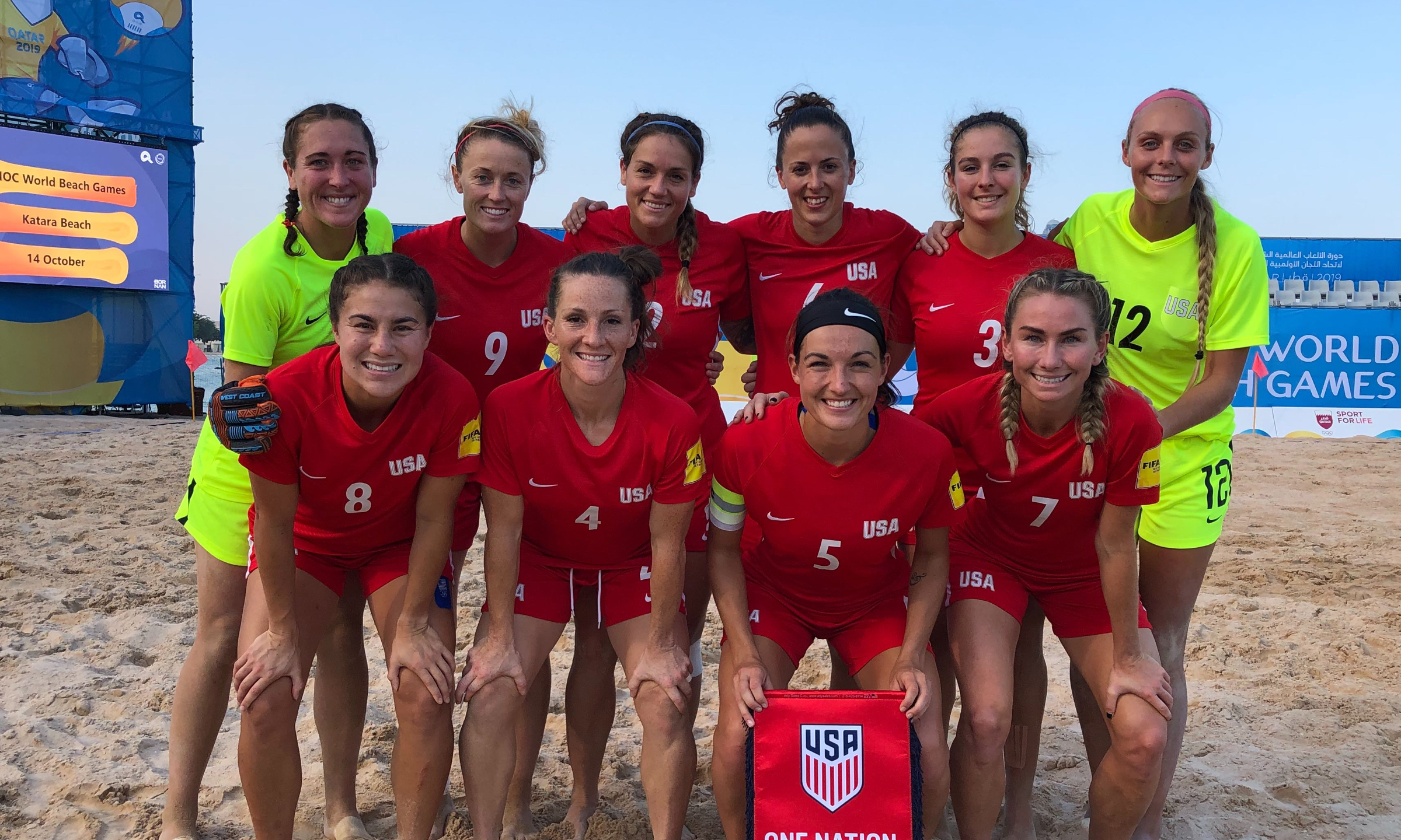 U.S. WOMEN'S BEACH SOCCER NATIONAL TEAM