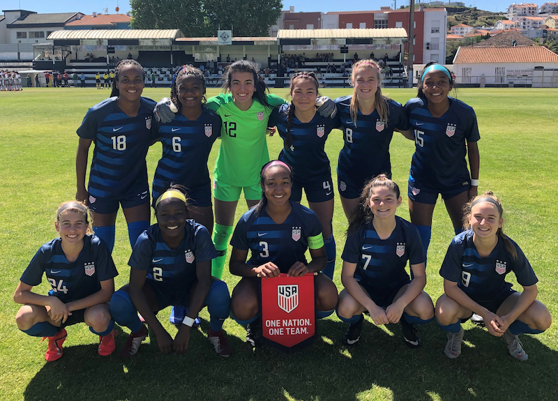 87f7c520a8c U-17 WNT Opens UEFA Development Tournament in Portugal with 4-0 Victory  Against Mexico