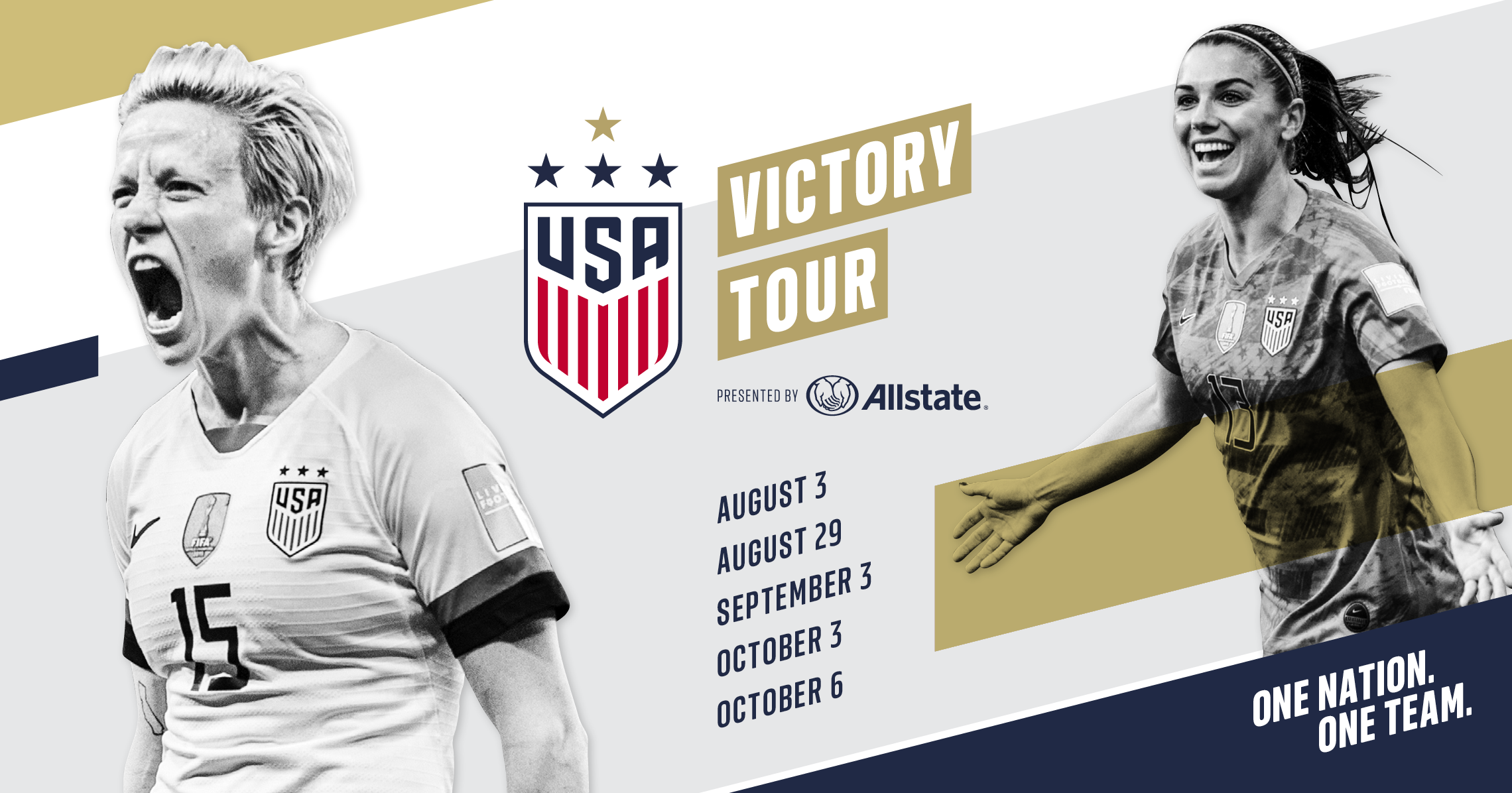 8d50c717f Allstate Kicks Off Multi-Year Partnership with U.S. Soccer as Presenting  Sponsor of the 2019 Victory Tour