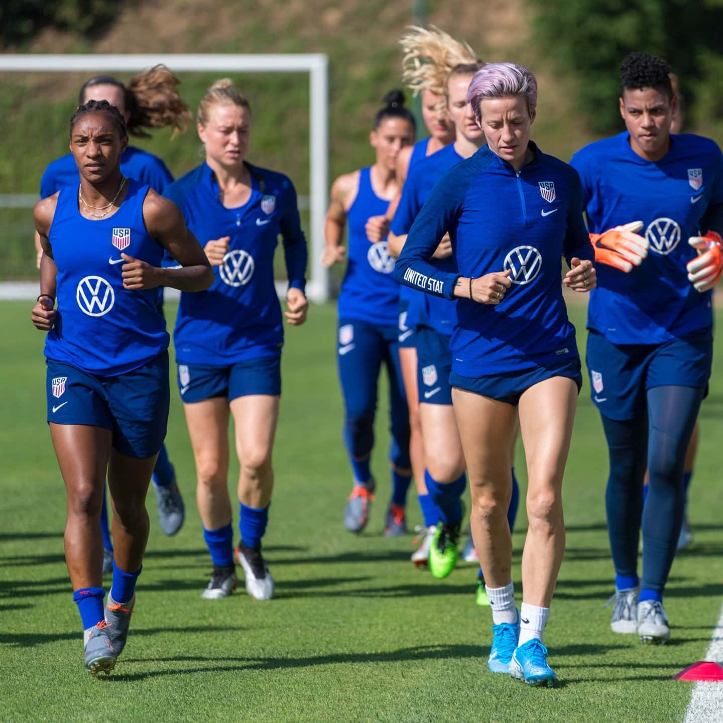 2019 Women's World Cup Champions To Hold Public Training On August 2 At Rose Bowl