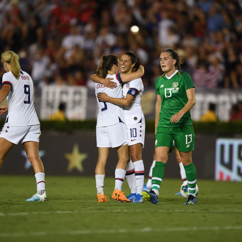 Victory Tour 2019: USA vs. Ireland - Match Report & Stats