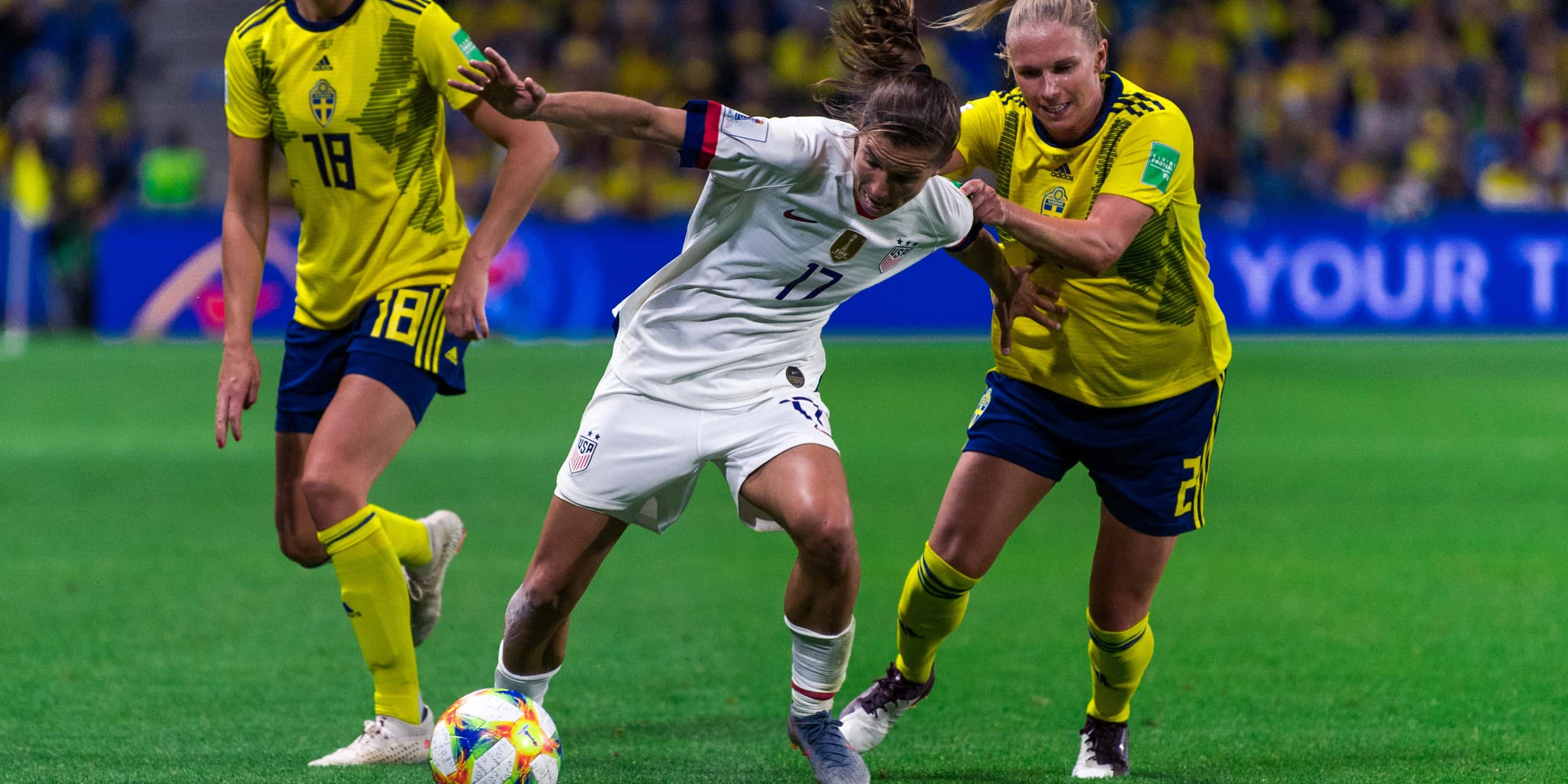 usa vs sweden world cup 2020
