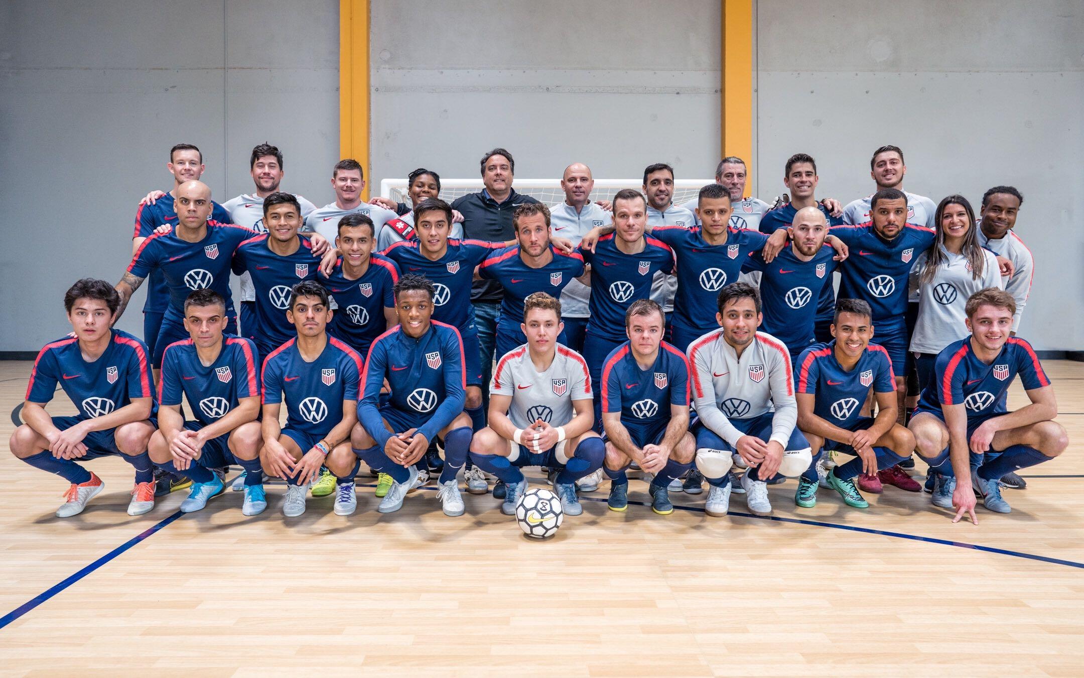 USA to Play El Salvador, Nicaragua and Cuba at Rescheduled 2021 Concacaf Futsal Championship