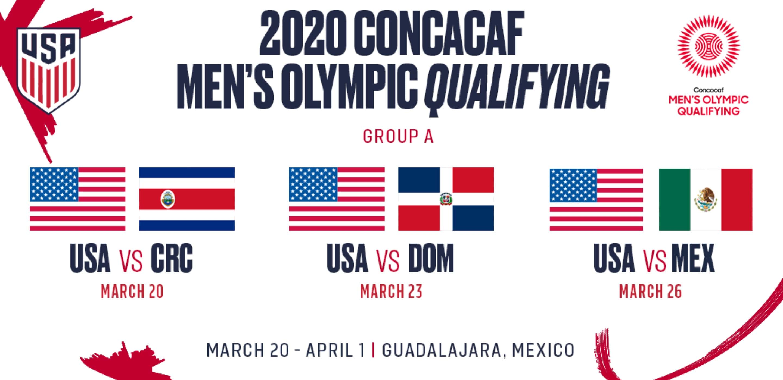 U 23 Usmnt To Face Costa Rica