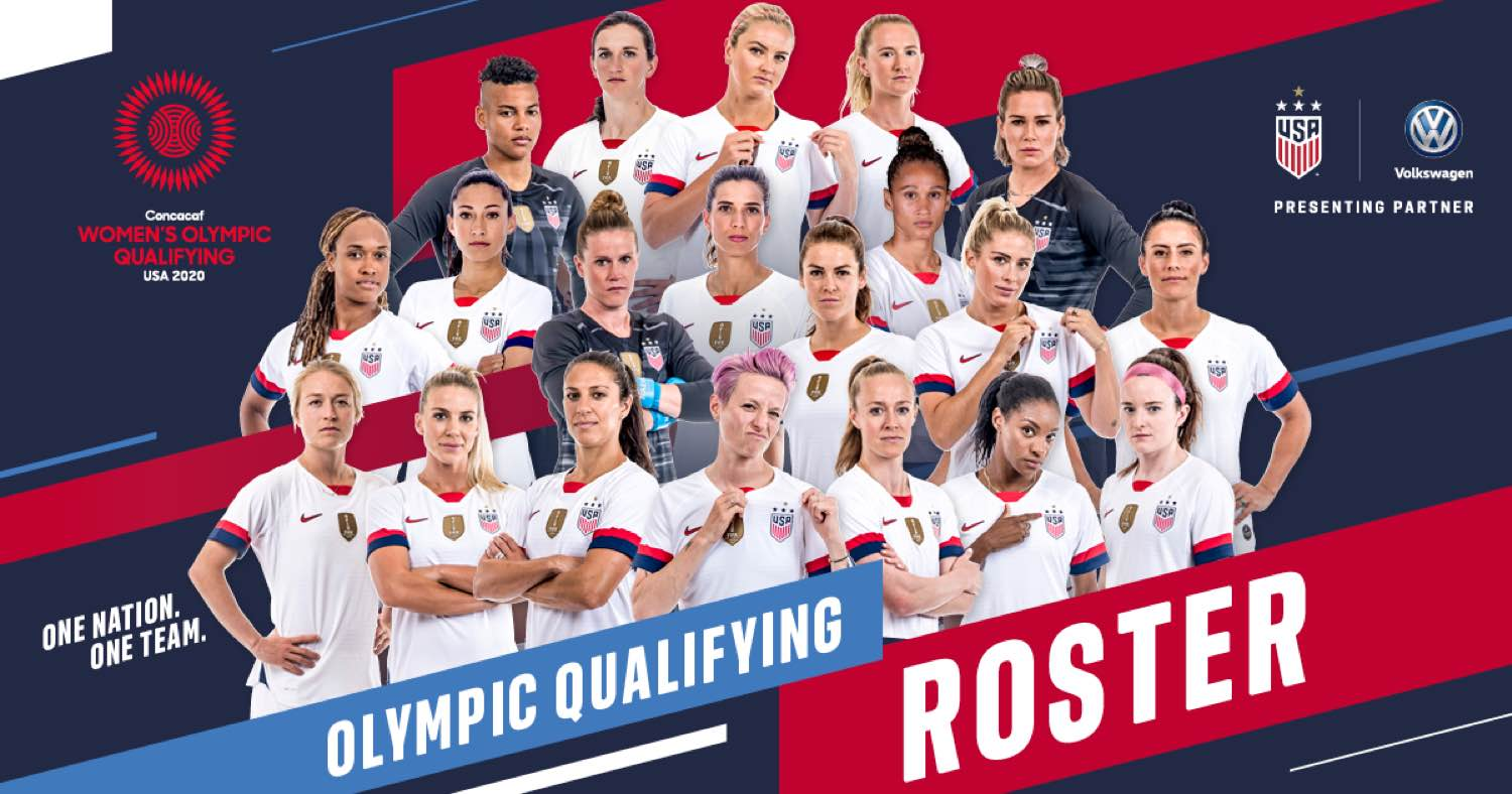 USA Set for 2020 Concacaf Women's Olympic Qualifying Tournament as Andonovski Names 20-Player Roster