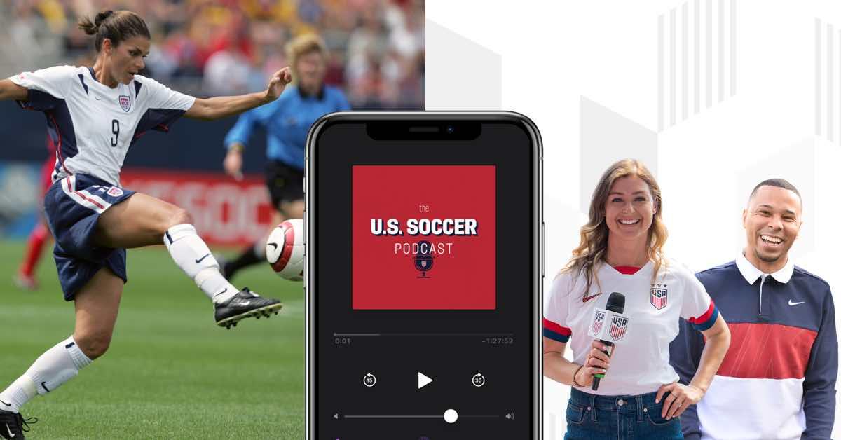 Podcast: Mia Hamm Speaks With U.S. Soccer