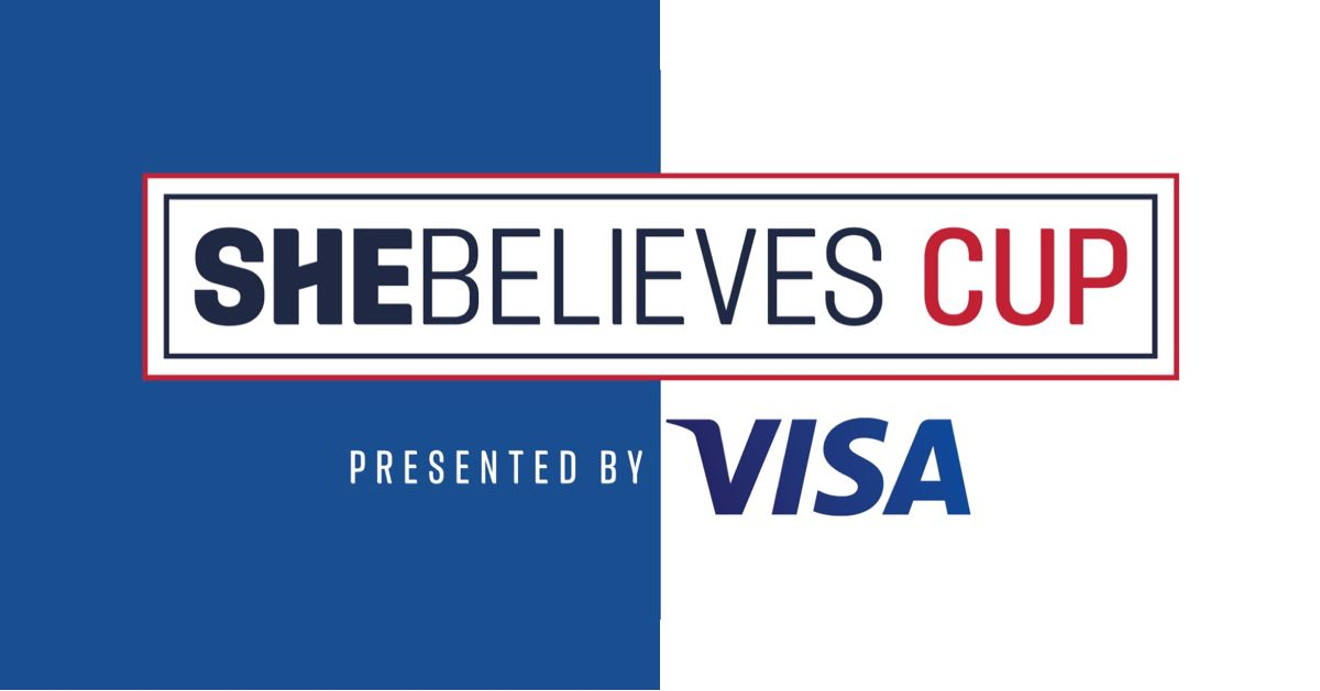 2021 SheBelieves Cup Presented by Visa will Feature the USA Hosting Brazil, Canada and Japan