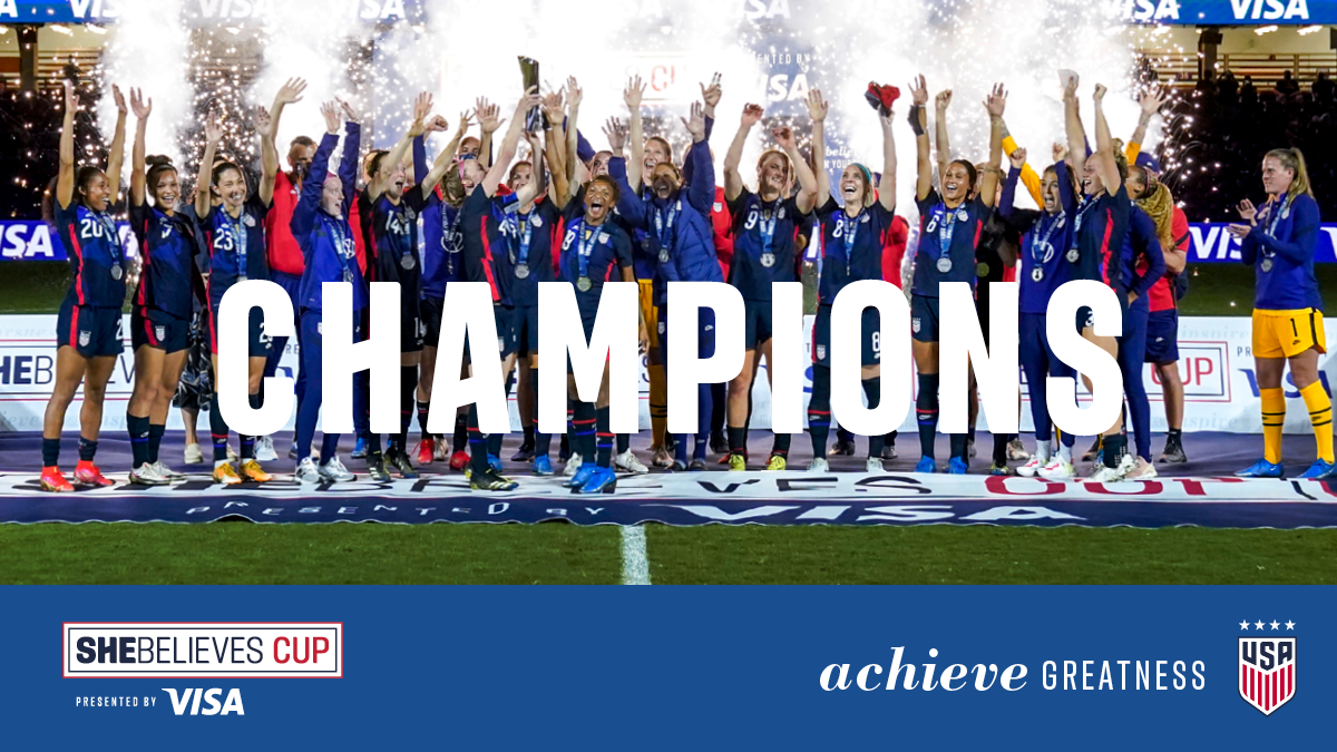 2021 SheBelieves Cup: USA 6 - Argentina 0    Match Report, Stats & Standings