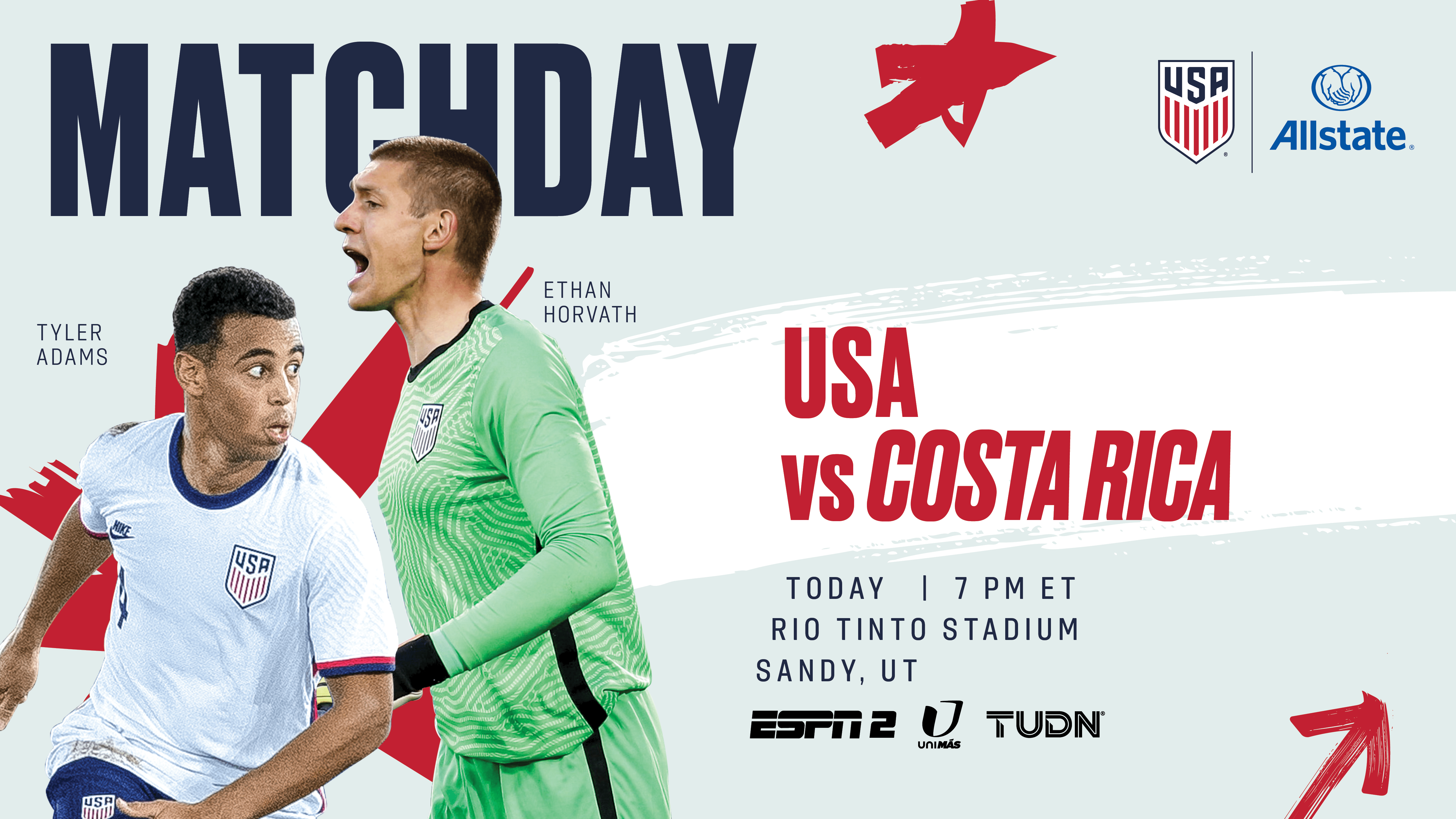 International Friendly: USA vs. Costa Rica - Preview, Schedule, TV Channels & Start Time