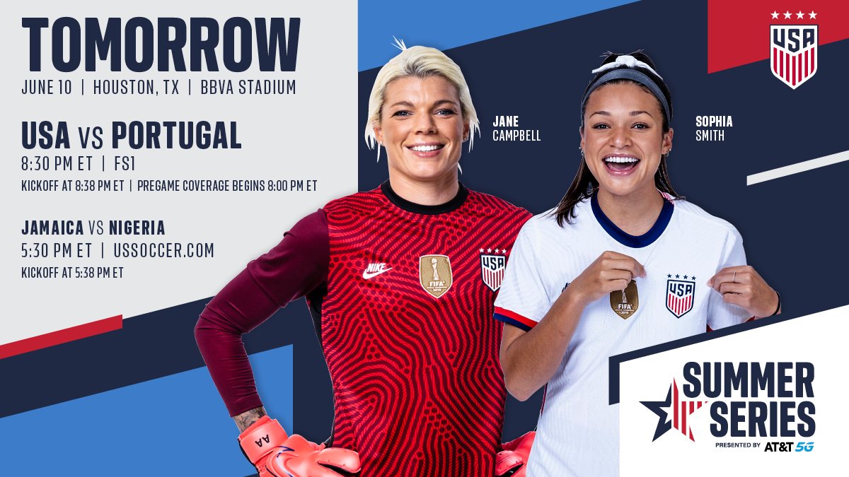 Summer Series: USA vs. Portugal - Preview, Schedule, TV Channels & Start Time
