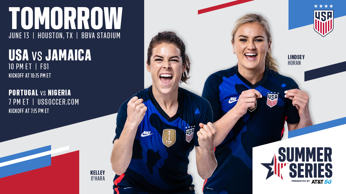 2021 WNT Summer Series: USA vs. Jamaica - Preview, Schedule, TV Channels & Start Time