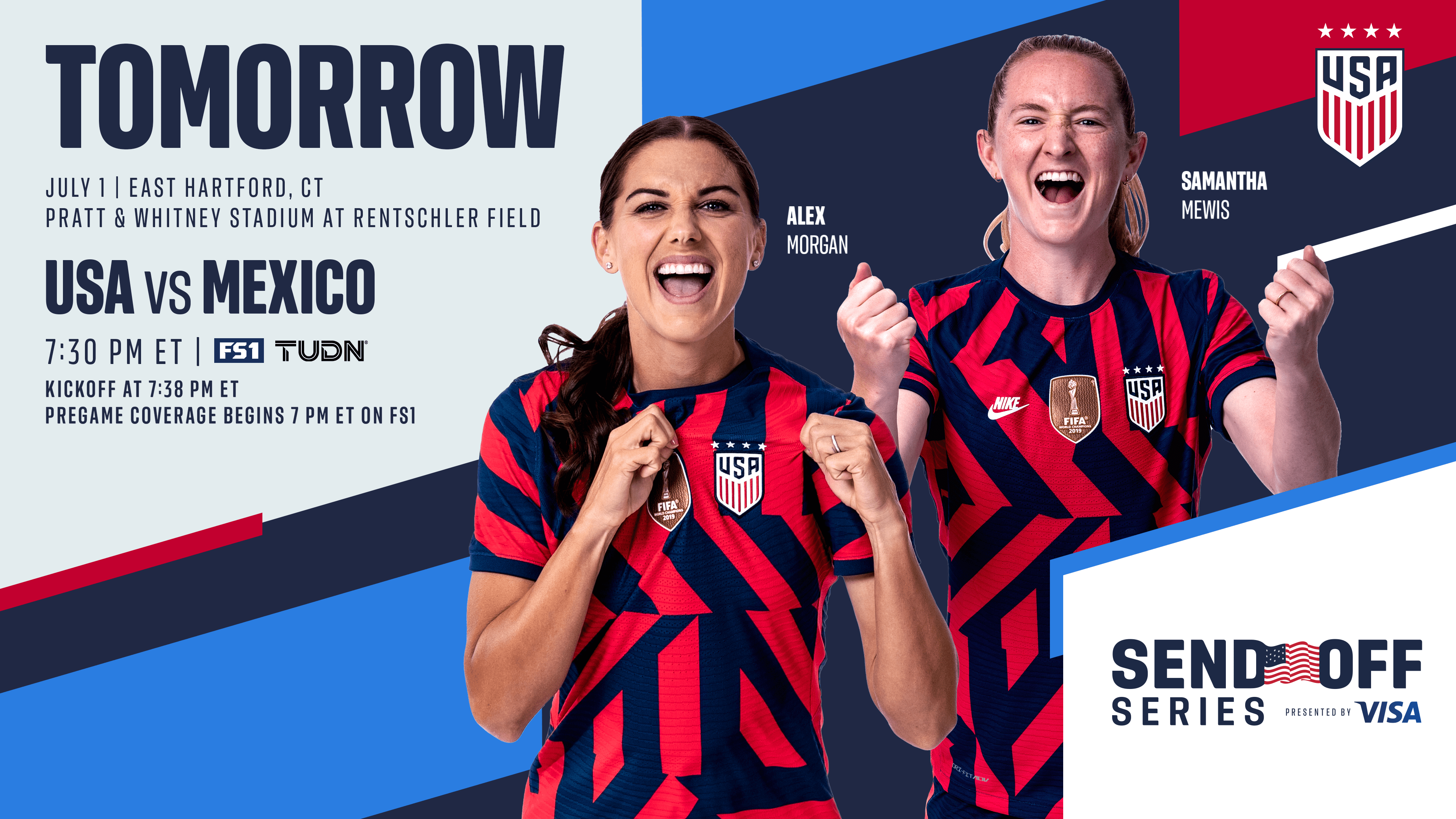 2021 Send Off Series: USA vs. Mexico - July 1st | Preview, Schedule, TV Channels & Start Time