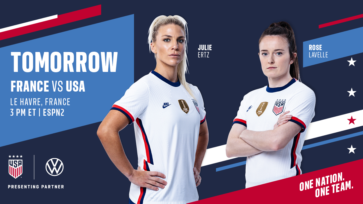 International Friendly: USA vs. France - Preview, Schedule, TV Channels & Start Time
