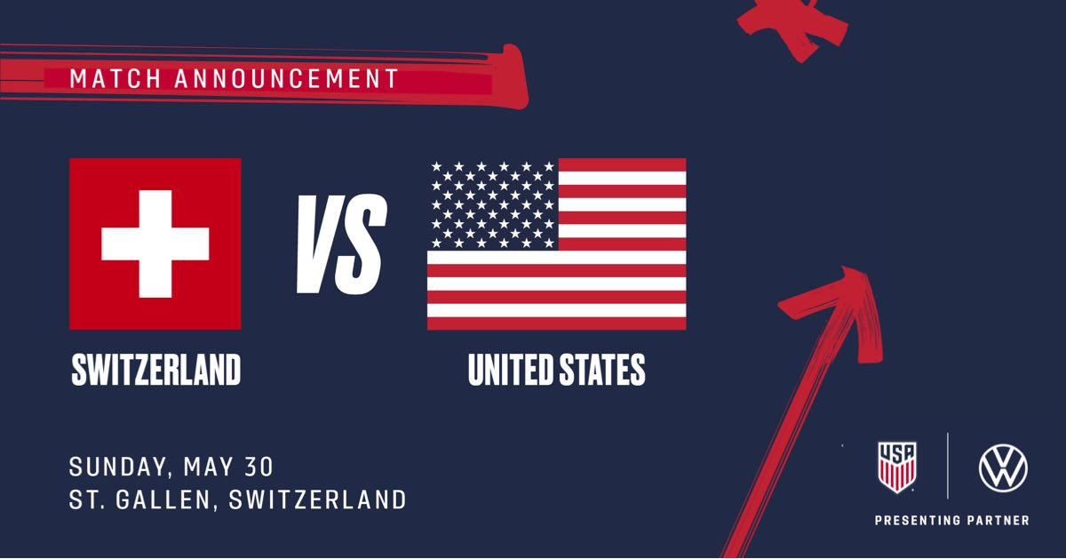 USMNT will face No. 16-ranked Switzerland in Final Match before Concacaf Nations League Final Four