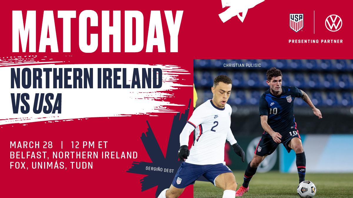 International Friendly: USA vs. Northern Ireland - Preview, Schedule, TV Channels & Start Time