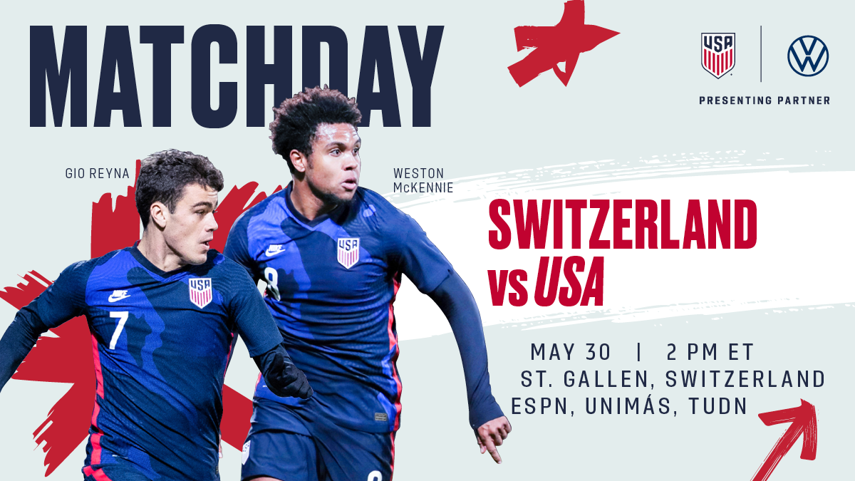 International Friendly: USA vs. Switzerland - Preview, Schedule, TV Channels & Start Time