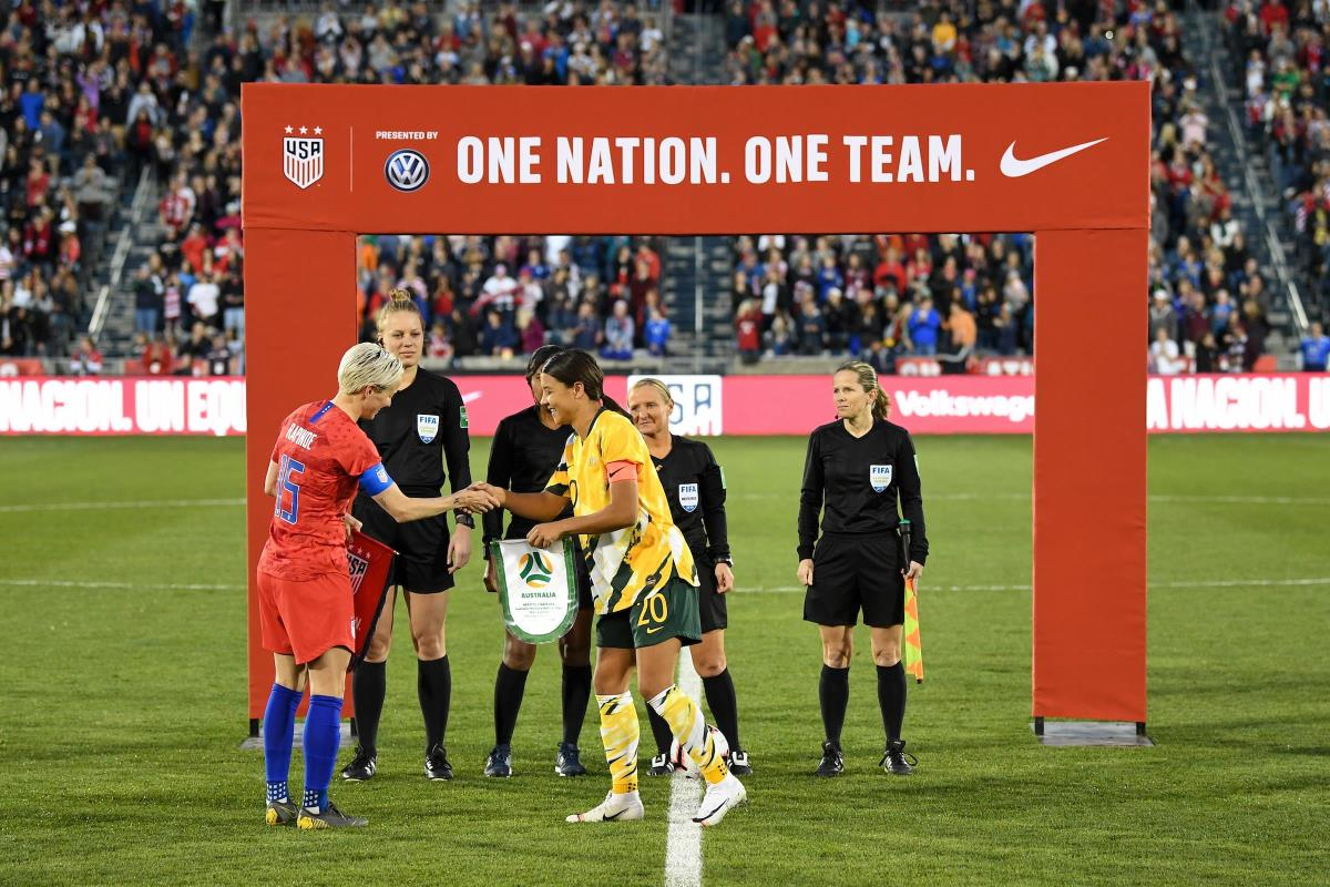 2020 Tokyo Olympics: USA vs. Australia - Match History & Preview   Five Things to Know