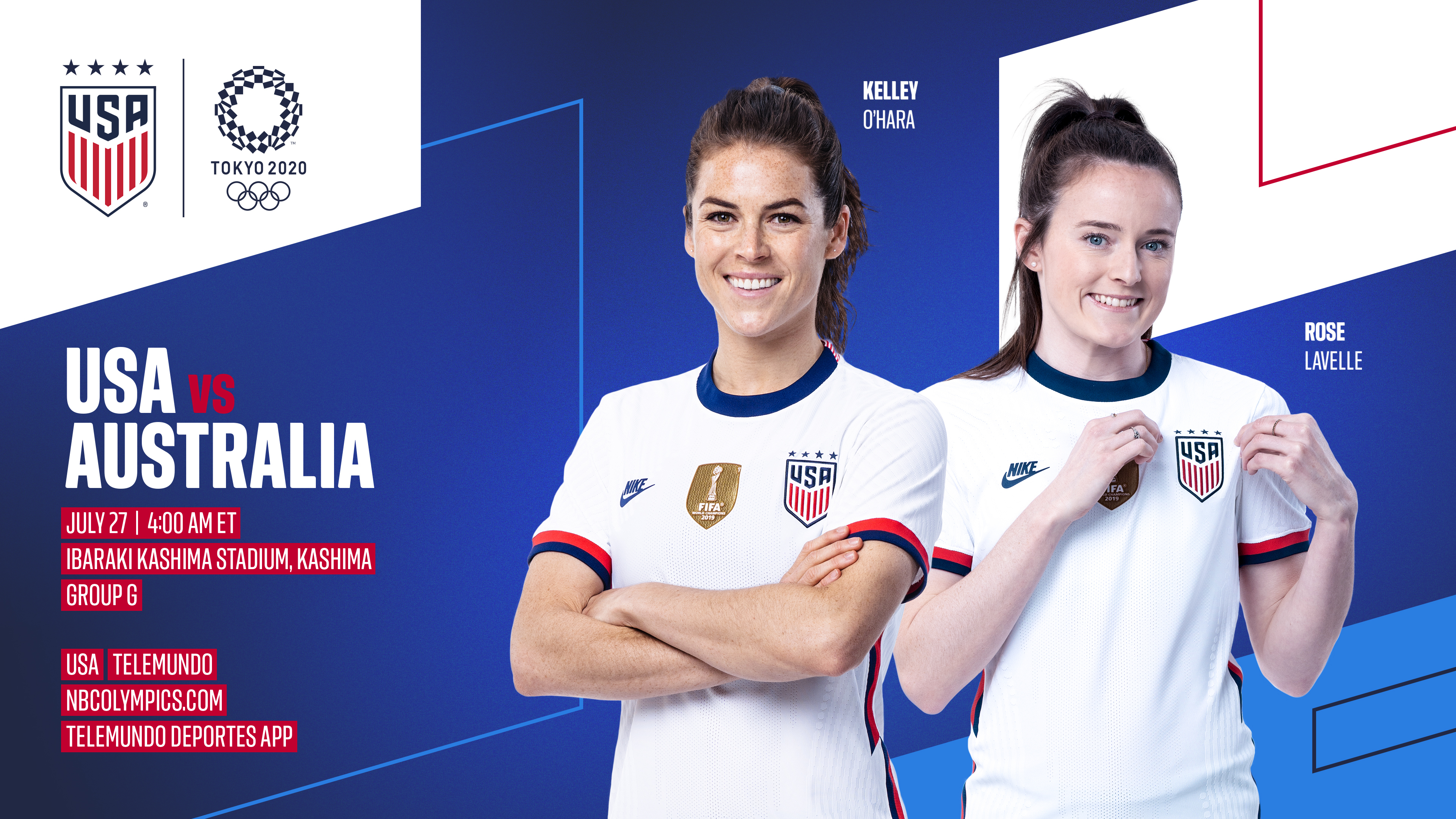 2020 Tokyo Olympics: USA vs. Australia - Preview, Schedule, TV Channels & Start Time