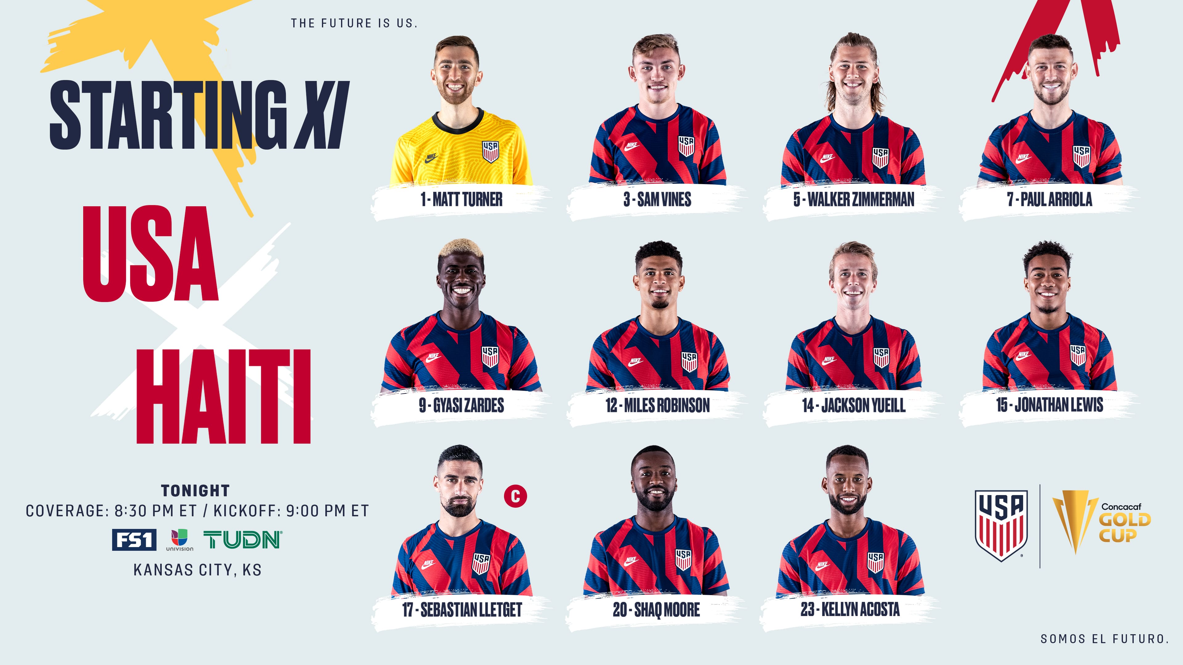 2021 Concacaf Gold Cup: USA vs Haiti - Starting XI, Lineup Notes, TV Channels & Start Time